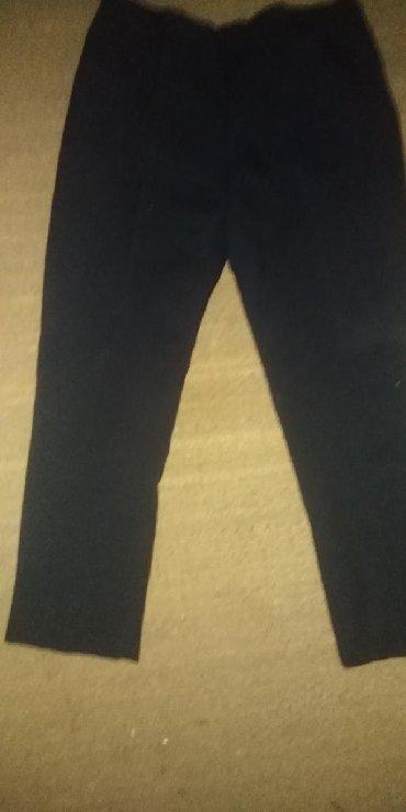 Plave pantalone - Srbija: Zenske pantalone izgledaju crno na kameri ali inace su tamno plave