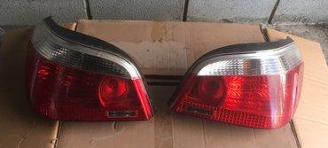 бмв 5 бу в Кыргызстан: Продаю задние фонари бмв е60, bmw e60. ориганал, бу. цена 10 000 сом