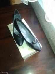 Продаю новые туфли на узкую ножку.38 размер.Удобный невысокий каблук.О в Бишкек