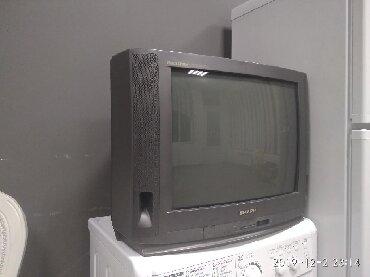 акустические системы sharp колонка в виде собак в Кыргызстан: Продаю телевизор Sharp. Диагональ 54 см. - 1200 сом. Телевизор