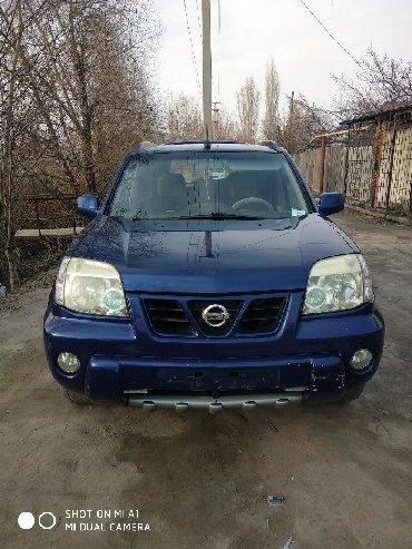 синий nissan в Кыргызстан: Nissan X-Trail 2003