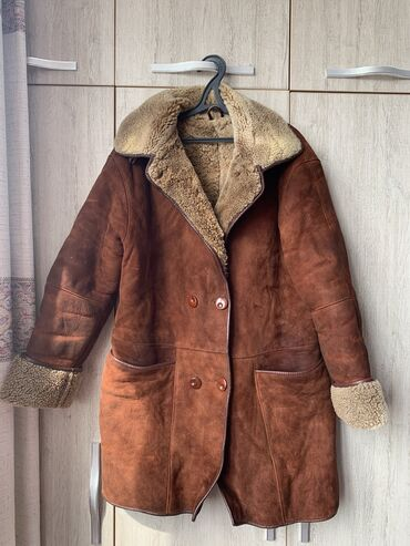 "размера л в Кыргызстан: Итальянская натуральная дубленка бренда «Demirok leather"" Очень теплая"