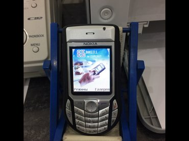 Bakı şəhərində Nokia 6630Retro telefon, əla vəziyyətdədir. Barter olar iphone 4