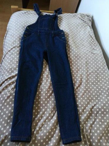 Zenske tregeruse, tamniji jeans, c & a, vel 36. Nema elastina, - Pozega