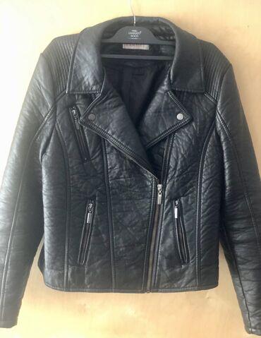 Косуха (Кожаная куртка) чёрного цвета, был подарен на др из Турции!Не