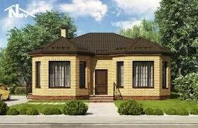 Qazax şəhərində Проект дома из газосиликатных блоков «Альтенбург»