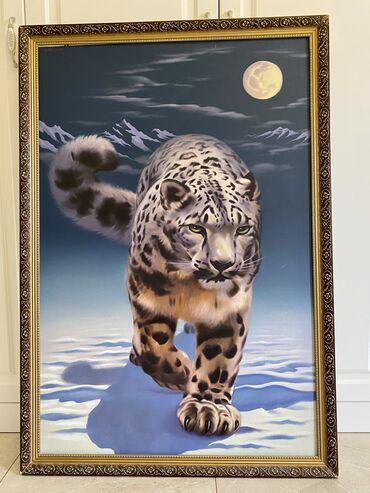 свадебный букет ручной работы в Кыргызстан: Картины ручной работы известного художника Цена: картина «Илбирс»