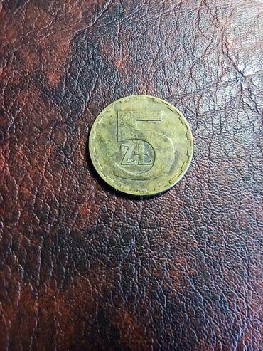 Kovanica 5 zlota Poljska