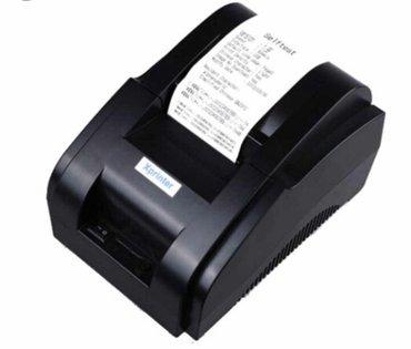 Принтер чеков xprinter 58iih usb 58 mm в Бишкек