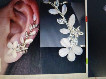 Продается украшение на одно ухо,  два разных вида.  новые.  Китай. в Бишкек