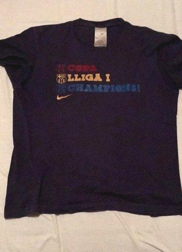 Majica Barselona kupljena na Nou Kampu! Barcelona   zvanicni - Leskovac
