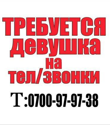 Работа - Бишкек: Оператор Call-центра. С опытом. 5/2