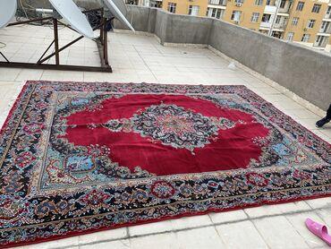 Ev üçün dekor Azərbaycanda: Təbriz Xalçası 1200 manata alınıb 4x3 metrdir real alıcıya cüzi