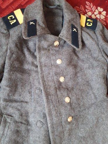 Продаю военный шинель(зимнее пальто) в в Бишкек