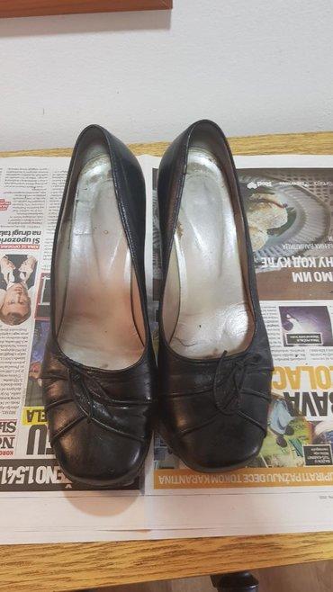 Ženska obuća | Majdanpek: Kozne cipele na stiklu,br.40