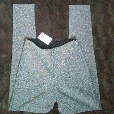 HM Nove duboke pantalone/ helanke, duboke. Etiketa. Struk 32, prednja - Ruma