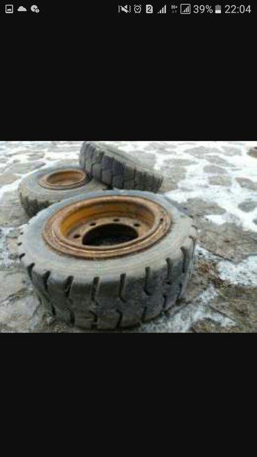 Продаю колёса на погрузчик балканкар 4шт комплект в Лебединовка