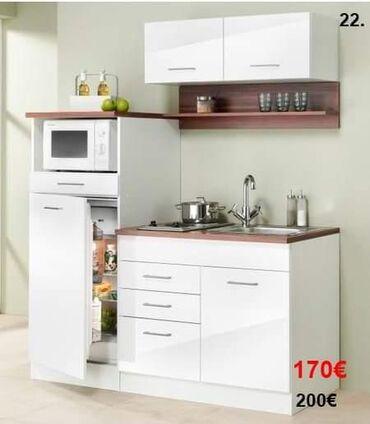 Nameštaj - Batajnica: Kuhinja univer bela Duzina donjeg dela 160 cm Visina 80cm Bez sudopere