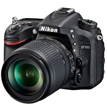 Продаю Nikon D7100 с объективом Nikon 70-300mm.В комплекте