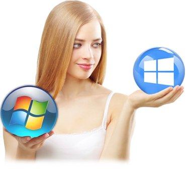 Ремонт компьютеров, Установка windows  в Бишкек