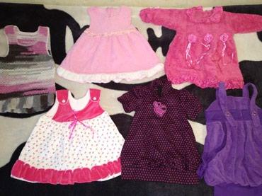 Продам платья на малышку с 6-18 мес в Бишкек