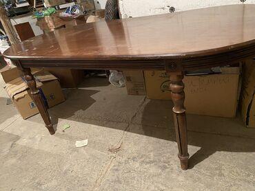 13 объявлений: Срочно продаём большой стол натуральное дерево Дуб Размер 1.10/200