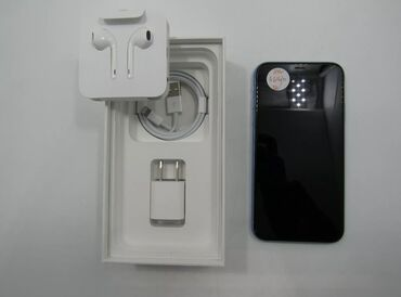 apple-iphone в Кыргызстан: IPhone XR 64gb blue. Пришел из США, новый с полным не пользованным