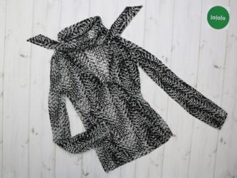 Женская оригинальная блуза Mexx, р. L    Длина: 57 см Рукав: 58 см Пог