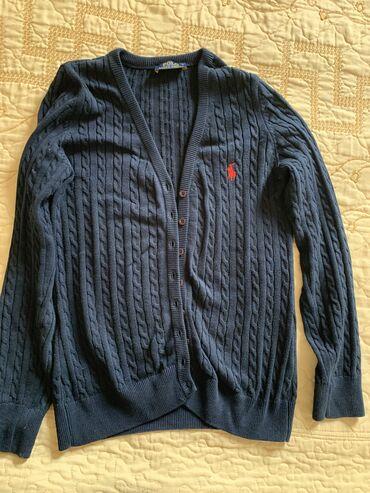 Темно-синяя кофта Polo