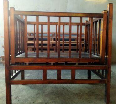 Детская мебель в Сокулук: Детская кроватка качалка
