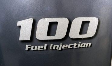 100 л. С. Б/у лодочный мотор Yamaha F 100 DETL.  в Бишкек