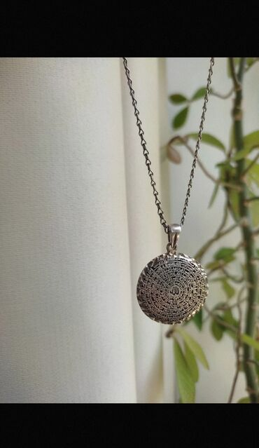 Подвеска (кулон) серебряный. 925 пробы. Надписи на арабском языке, по