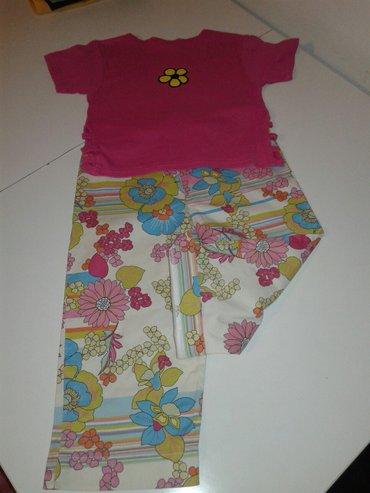 Pantalone 3/4 i dve majice velicina  140 u kompletu za 400 din. - Jagodina - slika 3