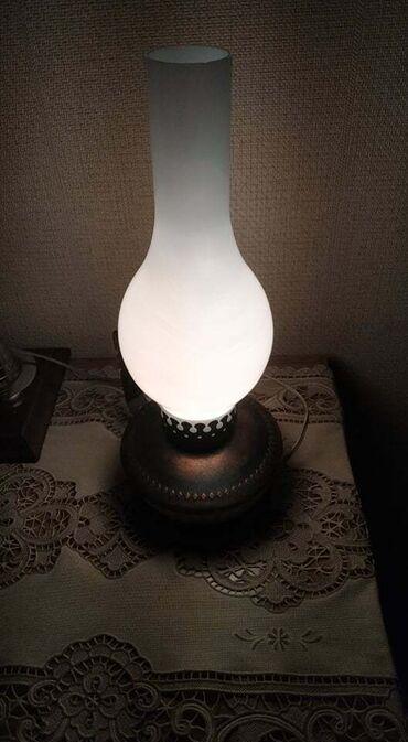 Светильник ЛАМПА продается. Электрическая, дизайн под керосиновую
