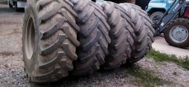 Транспорт - Полтавка: Продаю колёса на трактор т 150 с дисками накаченные в отличном