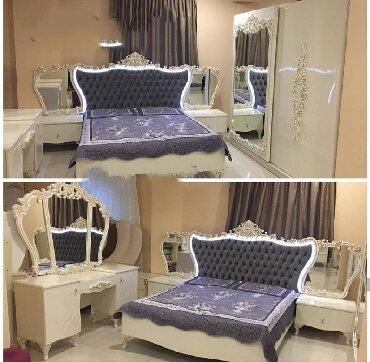 Zabrat şəhərində Yataq desti спални мебел yataq otagi mebeli orginal fabrik