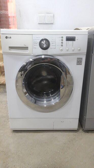 Elektronika Samuxda: Öndən Avtomat Washing Machine LG 8 kq