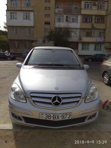 Qusar şəhərində Mercedes-Benz B 170 2005