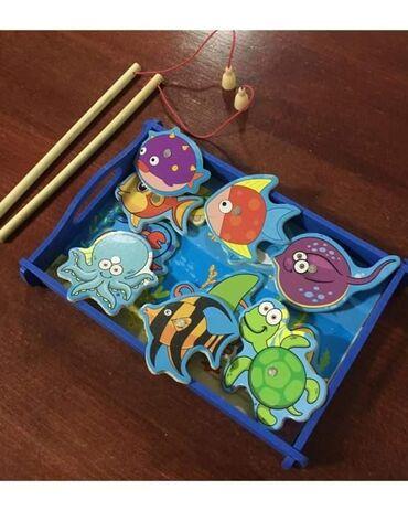 Bazen pecaljka je sjajna drvena igracka za decu u kojoj moze