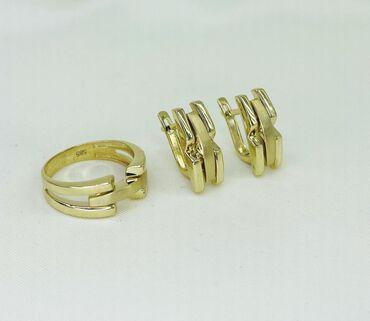 скупка золота 585 пробы в Кыргызстан: Набор золото 585 пробы 9,4 г Италия