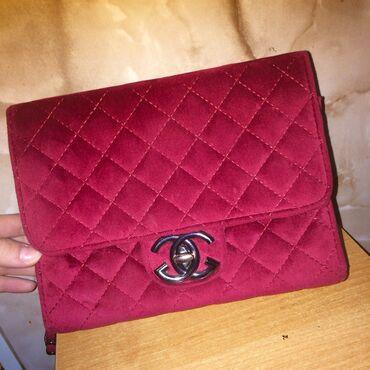 сколько стоит сумка на пояс в Кыргызстан: Шикарная бордовая сумочка,в отличном состоянии!!
