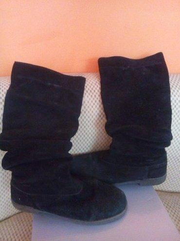 Crne plisane cizme, broj 36 - Indija