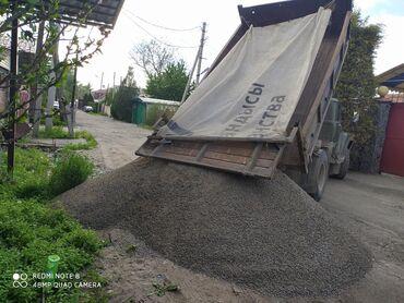Дом и сад в Кыргызстан: Отсев отсев песок чернозем горный отличного качества Гравий