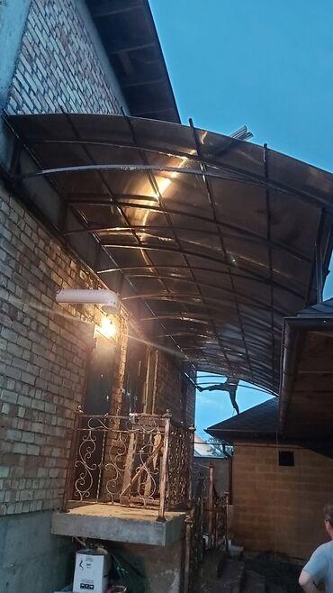 Сварка - Кыргызстан: Сварка | Ворота, Решетки на окна, Навесы, Козырьки, Камины, Тапчаны, Перила, Заборы, оградки | Монтаж, Гарантия, Покраска, Бесплатная смета, Высотные работы