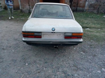 bmw-525 в Кыргызстан: BMW 525 1987