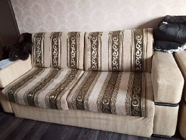 Диваны в Кыргызстан: Прод диван фирма LINA Турция. 2шт. одинаковый сост хорошом 15тыс чехо