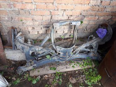 Транспорт - Кашка-Суу: Продаю Bmw e34 задний балка с рычагами и тормозными дисками с
