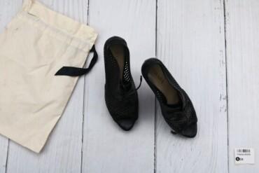 Товар: Босоножки женские Prada, черные, размер 40, 6598.     Состояние