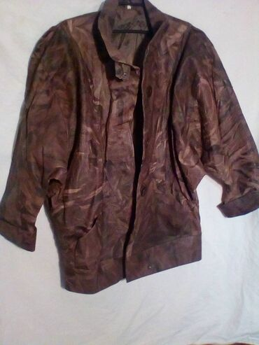 Kozne jakne - Srbija: Zenska kozna jakna,broj 48,NOVA
