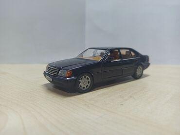 Искусство и коллекционирование - Кыргызстан: Продаю коллекционную модель MERCEDES W140 РАРИТЕТТв масштабе 1: 43
